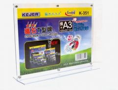 Acrylic A3 Paper Stand A3 Paper Display Stand Hold