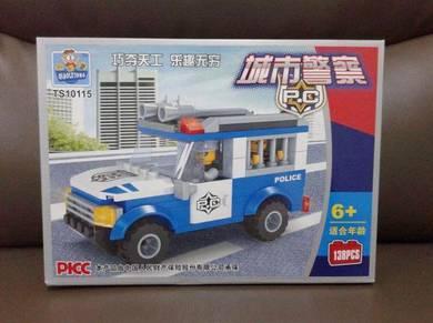 Brick Police Prisoner Car TS10115
