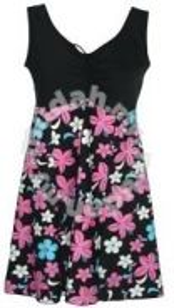 Korea Style Swim Dress (24042) Plus Sizes