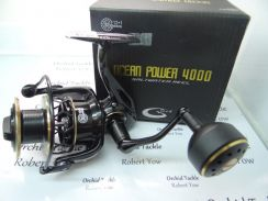G Tech ocean power 4000 fishing reel pancing