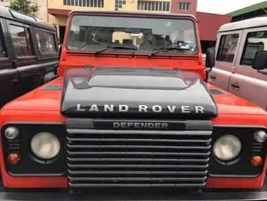 Land rover defender radiator grille