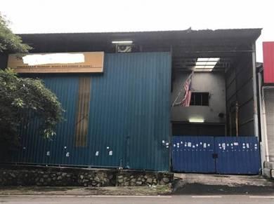 Factory at Taman Perindustrian Templer
