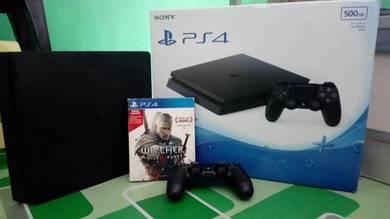 PS4 Jet Black 500GB
