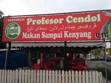 Restoran Prof. Cendol C/Larang utk diambil alih