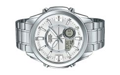 Casio World Time 10 Year Battery Watch AMW-810D-7A