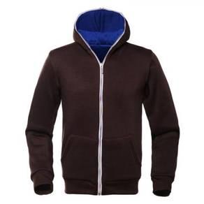 343 Hoodie Full Head Zip-Up Wear Sweater Jacket