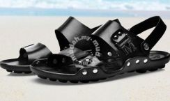 Warrior Dual Use Sandals Slippers Shoes (Black)