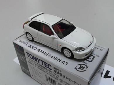 Honda Civic Ek9 Type-R Champion White Vtec B16b