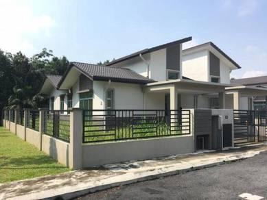 0 Deposit CORNER Rmh Berkembar BARU 3160sf 4 Bilik Jln Kebun Shah Alam