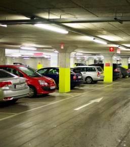 Setapak Central Mall zetapark monthly season parking lot