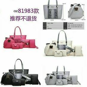 Set 6 in 1 handbag