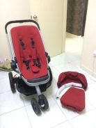 Quinny Buzz Stroller LIKE NEW with car seat adapte