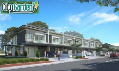Double Storey at City Garden off Kch-Samarahan Link Rd