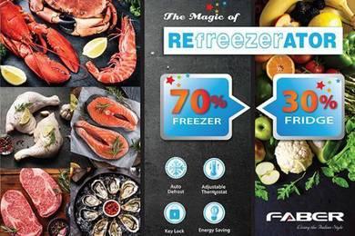 Combination Freezer+Chiller 210L(Baru)