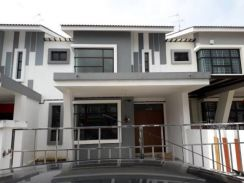 Pekan Nanas Double Storey House for Sale