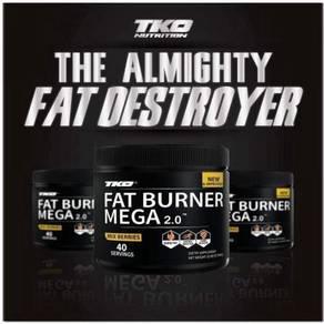 FAT BURNER MEGA FREE POSTAGE & shaker (ke kedah)