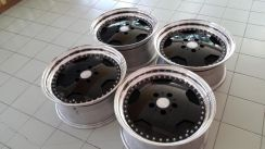 17inch Star Form 3piece wheel japan