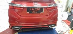 Toyota altis mdp bodykit with paint abs thailand