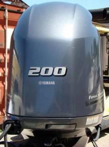 2015 Yamaha Outboard Motor 4 Stroke 25' Shaft Long