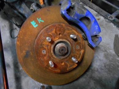 Honda ej ek ek3 virs ek4 b16a disc brake besar so4