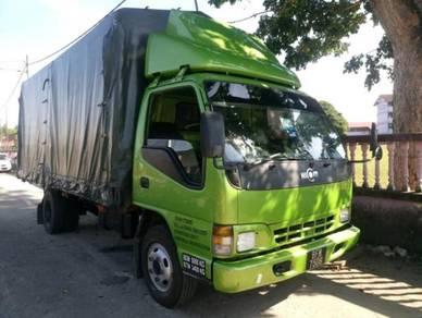 Hicom 3 Tan 4.3 Diesel Enjin Hijau Panjang 17 kaki