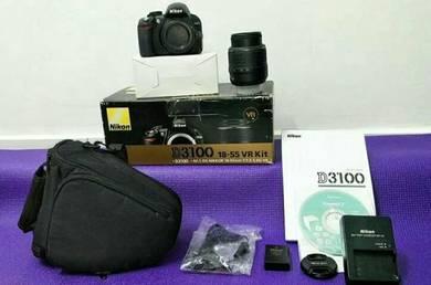 Nikon D3100 good condition