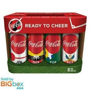 Limited Coca Cola World Cup 2018 Edition Russia