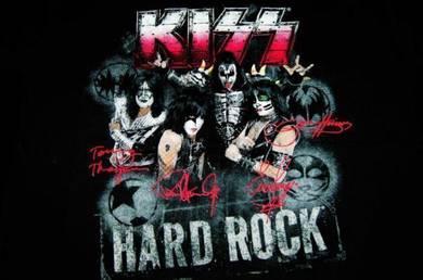 T Shirt Hard Rock Cafe Sig 32 SURFERS [L] NEW