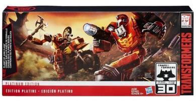 Hasbro Transformers Platinum Edition Cybertron
