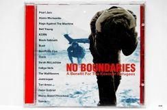 Original CD - NO BOUNDARIES - Kosovar 99 Pearl Jam