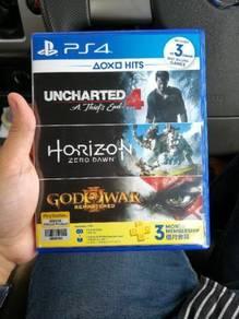 Uncharted 4 and horizon