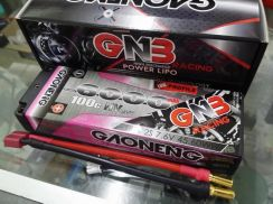 GNB 7.6V 2S 6000mAh 100c LiHV Lipo Battery