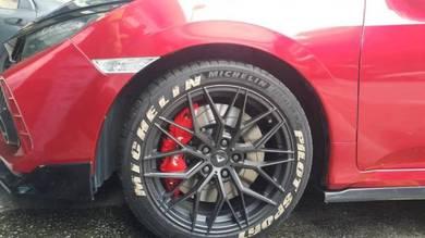 Honda Civic Fc Fella Monoblock 6piston Kits