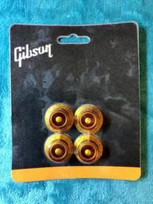 Gibson USA Top Hat Knobs (4pcs) Vintage Amber