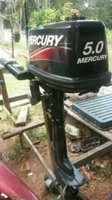 Enjin bot mercury 5.0 kuda
