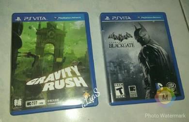PS Vita Games - Batman & Gravity Rush
