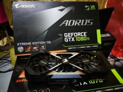 POWERFUL Aorus XTREME GTX1080Ti 11GB GDDR5x MURAH