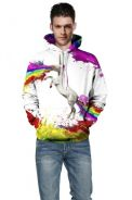 WM159 Printing Oil Painting Style Fashion Sweater