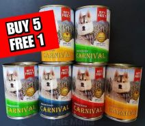 CARNIVAL Dog Canned Food 400g