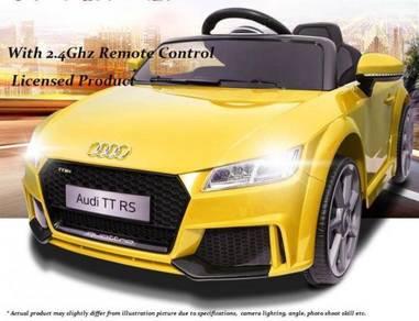 Kereta Elektrik Budak Design Audi TT RS + Remote