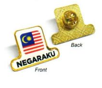 Badge Negaraku - Gold(MSIA-1056)