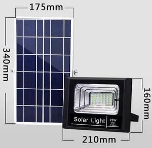 25W Solar Waterproof Flood Light IP67