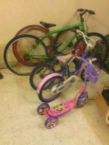 4 Basikal cincai sekaliclear.