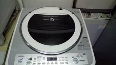 Washer washing machine mesin basuh Toshiba 11kG