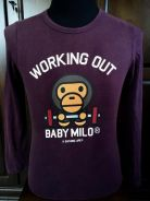 Nike Baby Milo x Bathing Ape supreme limited tee