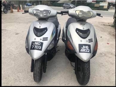 Suzuki vs125 vs 125 scooter enjin cun clear stock
