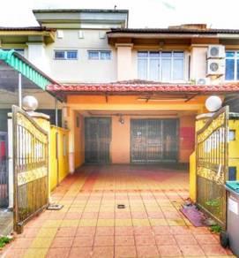 Rumah 2 tingkat untuk dijual siap ubahsuai (bumi lot)