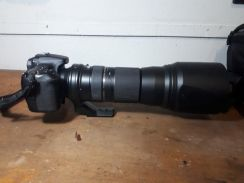 Canon 70d and tamron 150-600mm