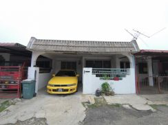 Worth Buy Single Storey Terrace House Sri Layang Mentakab Below Market