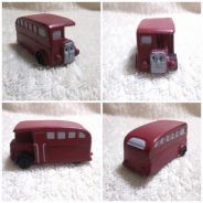 Authentic Thomas & Friends Rubber Bertie The Bus
